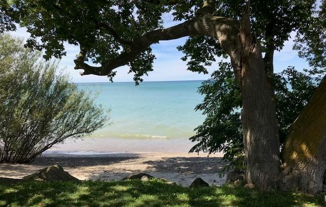Beach View from Kincardine Pavillion