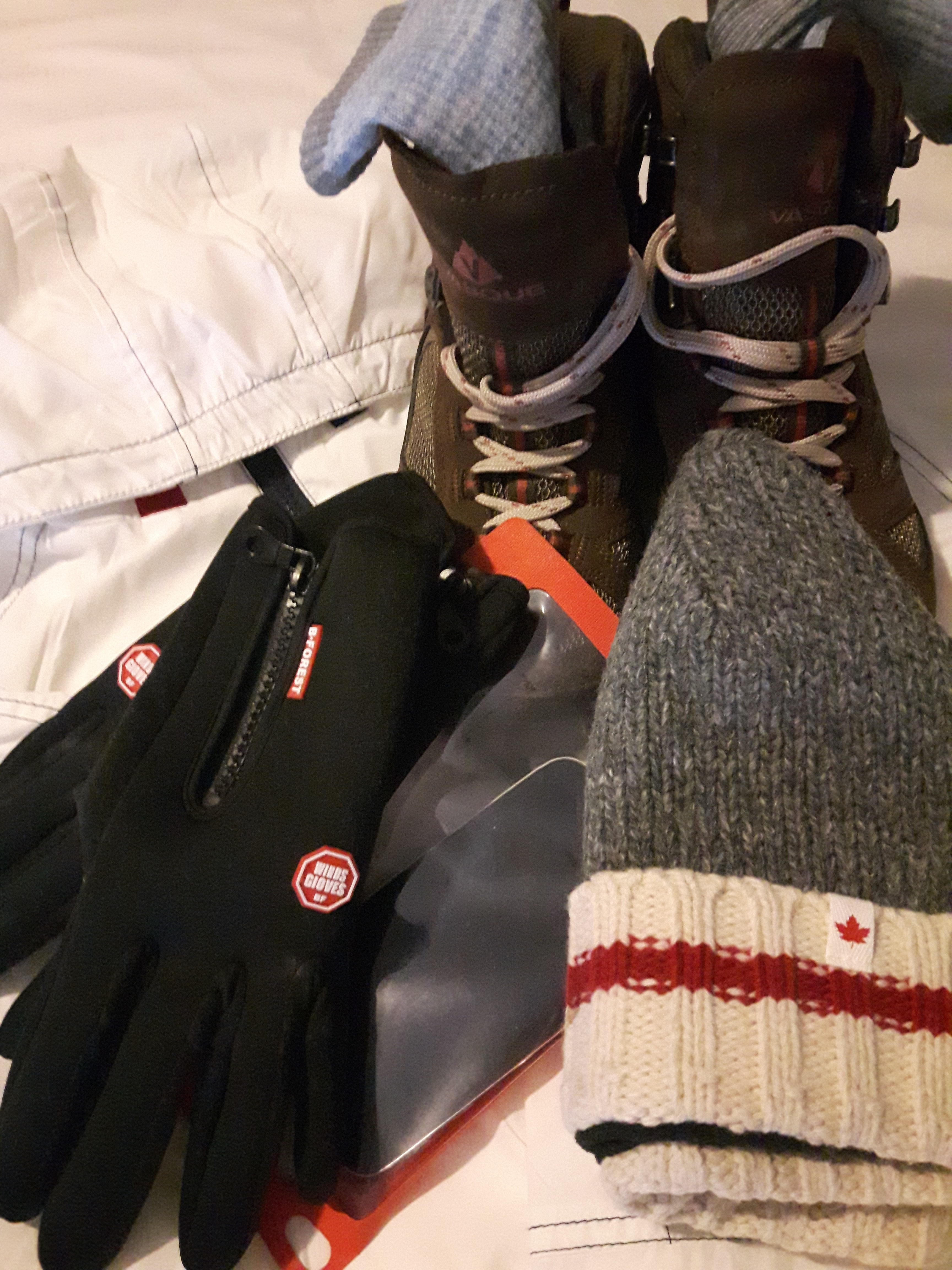 packing for Alaska - outer layer