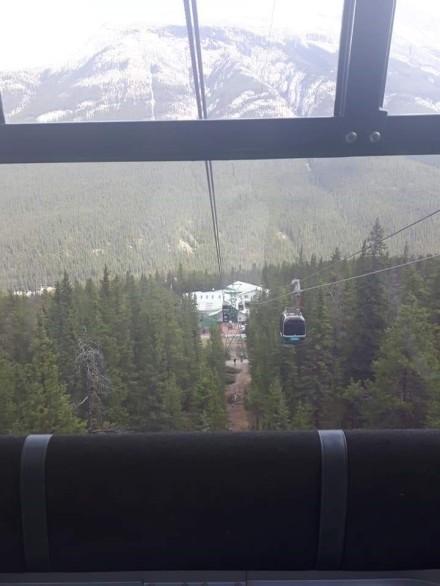 Banff Gondola ride up