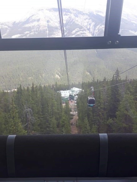 Banff Gondola ride up