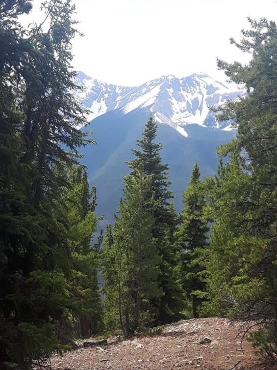 Summit at Sulphur Mountain in Banff, Alberta