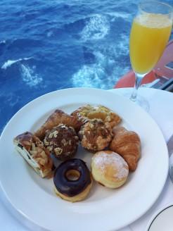 Balcony Breakfast, Royal Princess