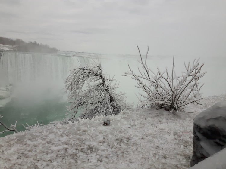Niagara Falls Canada a winter paradise