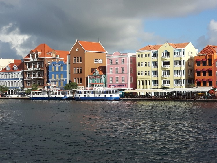 beautiful downtown Curacao