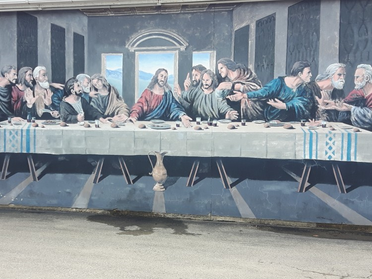 building-mural-durham-ontario-the-last-supper