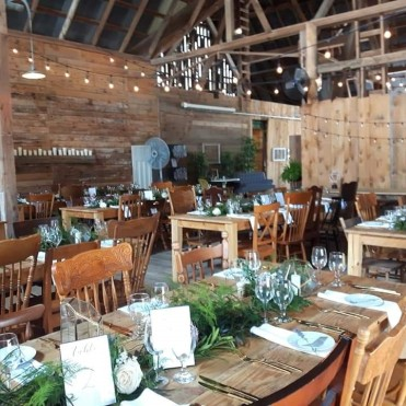 Wedding Reception at The Lavender Farm