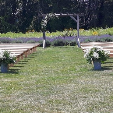 Wedding Venue at The Lavender Farm
