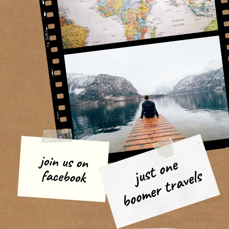 Just One Boomer Travels - Join us on Facebook