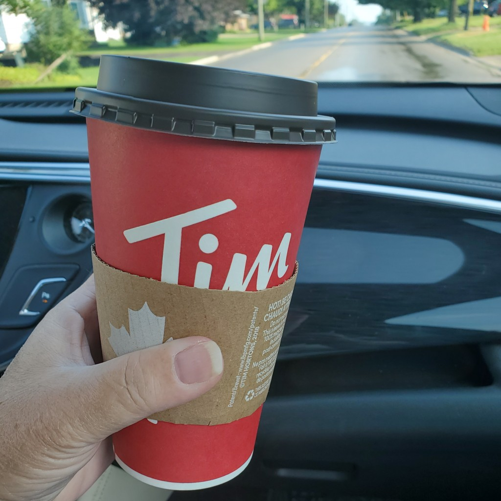 Tim Hortons, a Canadian tradition and road trip essential