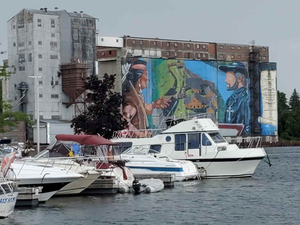 For more Canadian history, visit Midland's marina.